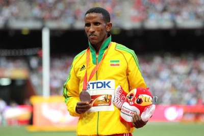 Tsegay (above) and Desisa have medalled at the past two World Champs, but Ethiopia was shut out of the podium at the 2012 Olympics