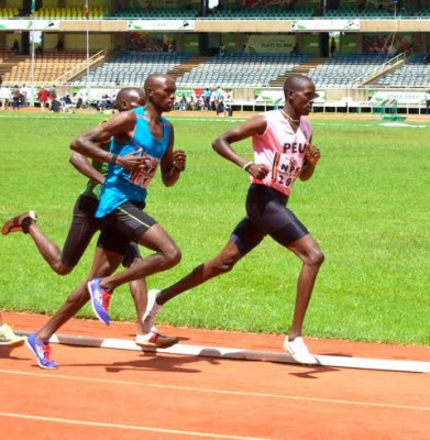 Manangoi in action during Friday's 800 semis