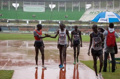 Koech after Friday's 5,000 prelims