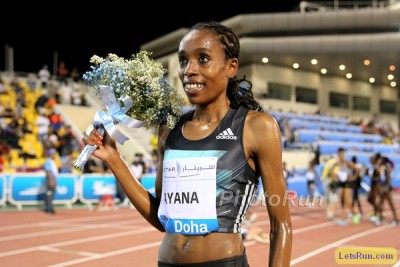 Expect Ayana to pick up another victory bouquet in Rabat