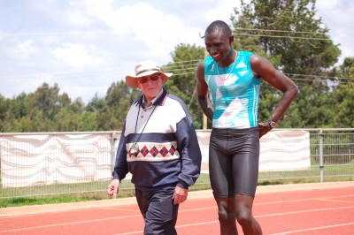 Rudisha and Brother Colm
