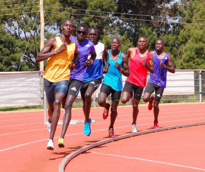 Kiprop leads the way