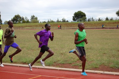 Kamworor mid workout