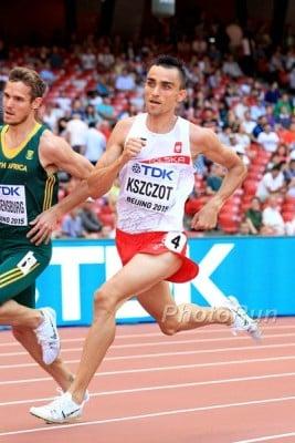 Kszczot in the prelims in Beijing last year en route to a silver medal