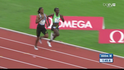 Semenya and Niyonsaba were far better than the rest of the field in Rabat