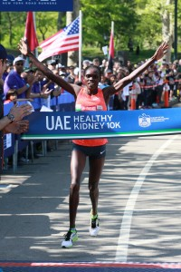 Cynthia Limo Wins UAE Healthy Kidney 10k (Photo Courtesy NYRR.org)
