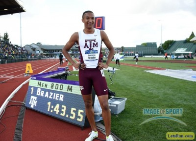 Brazier made Texas A&M proud at the Trials