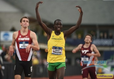 Cheserek won plenty of races on this track in college? Can he win his first one as a pro on Friday?