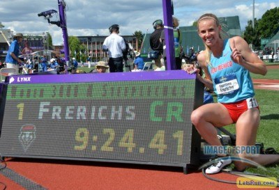 You know you're doing something right when you break a Jenny Simpson record