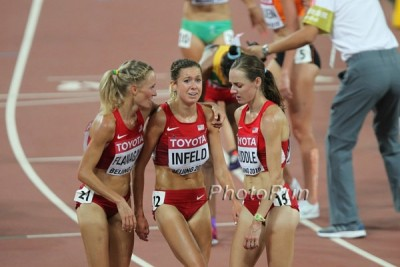 Huddle will be looking to make up for the disappointment of Beijing in Rio this summer; that starts with earning her spot on Saturday