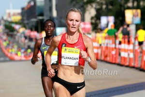 Kiplagat Tried to Hang On