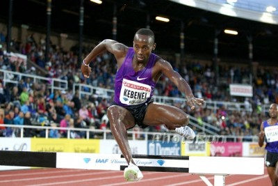 Kebenei came up just short of an NCAA title at Arkansas but could find himself on the Olympic team this summer