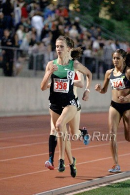 Lucas 4:07 at Oxy was proof that she would be a serious contender at the 2012 Olympic Trials