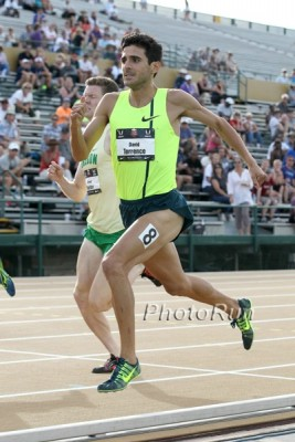 Torrence competing at the 2014 USATF Outdoor Championships