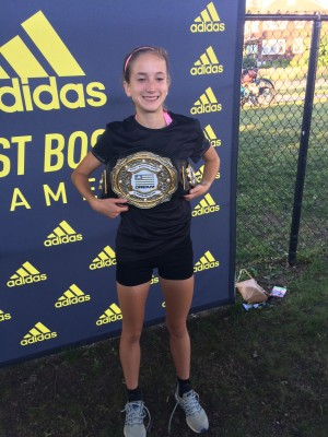 Murphy earned her title belt with an epic performance