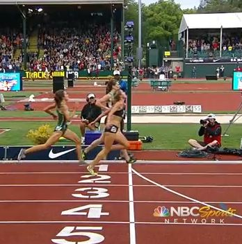 The finish line photo