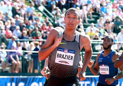 Brazier's only race as a pro was a disaster