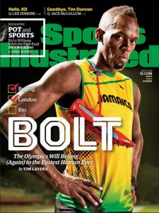 Bolt already made the cover of Sports Illustrated this year