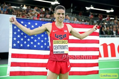 Centrowitz had quite a year indoors in 2016