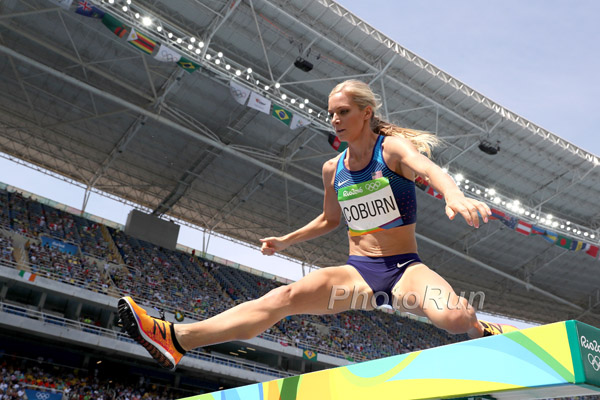Emma Coburn at 2016 Olympics