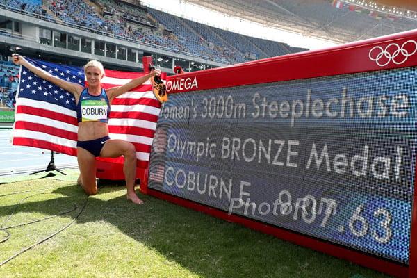 Emma Coburn 9:07.63 American Record