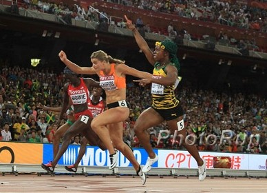 Shelly-Ann Fraser-Pryce Wins 2015 Worlds