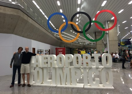 Team LRC arrives in Rio