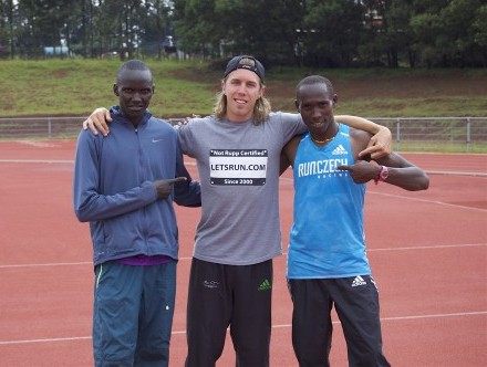 LetsRun.com is big in Kenya