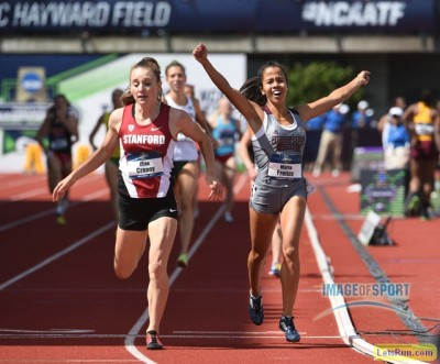 Cranny came inches away from her first NCAA title in June