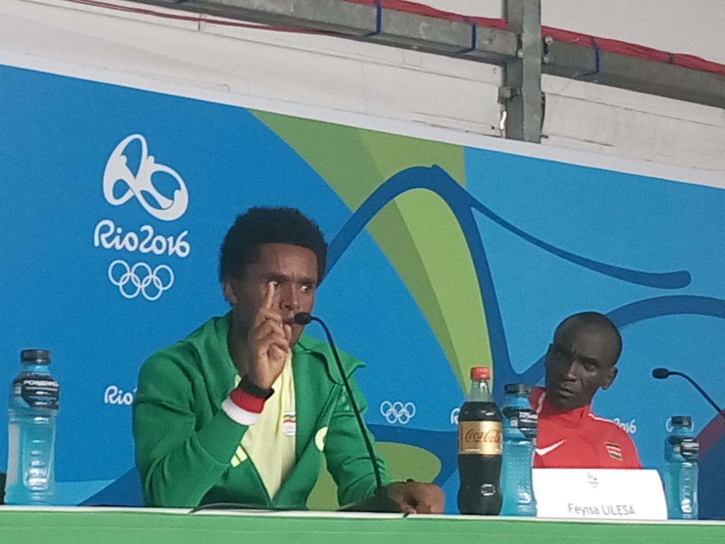 Feyisa Lilesa Speaking