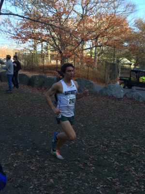 Senior Dan Salas leads the Dartmouth men