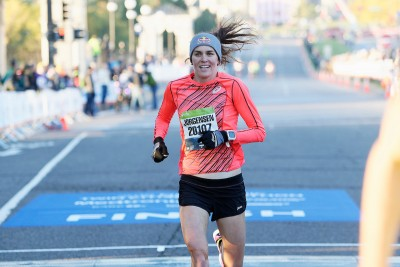 2016 Medtronic Twin Cities Marathon & 10 Mile The Most Beautiful Urban Marathon in America® Gwen JORGENSEN finishes 3rd 10 Mile