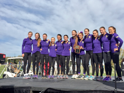 The Huskies rolled at Wisconsin last week (photo courtesy @UWTrack)