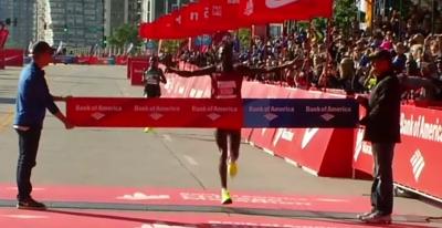Abel Kirui Wins 2016 Chicago Marathon