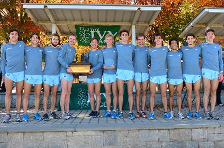 Columbia won its second title in three years at Van Cortlandt Park last year (courtesy Ivy League Sports)