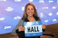 PHOTO: Sara Hall in advance of the 2016 TCS New York City Marathon (photo by Chris Lotsbom for Race Results Weekly)