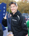 PHOTO: Tim Ritchie in advance of the 2016 TCS New York City Marathon (photo by Chris Lotsbom for Race Results Weekly)