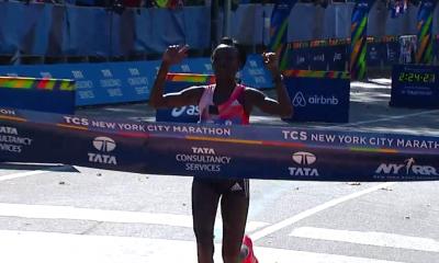 Mary Keitany Wins NYC 2016