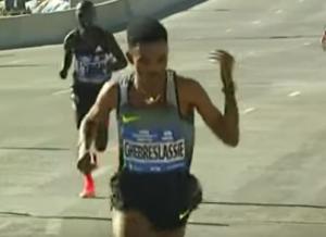 Hand Gesture by Ghebreslassie (Video here)