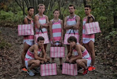 Neuqua Valley wore pink singlets at NXN Midwest and embraced the inevitable Victorias Secret comparisons