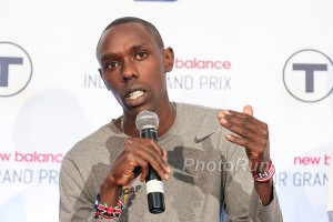 Paul Chelimo at Press Conference