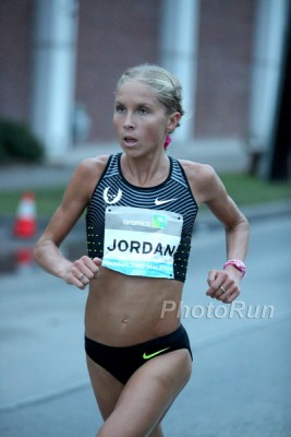 After successful half marathons in Houston and Prague, Hasay will go the whole 26.2 in Boston