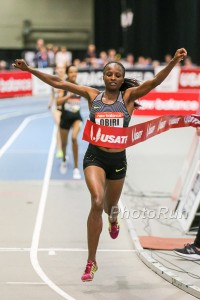 Hellen Obiri Wins in Boston