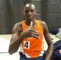 Korir after his shocking 1:14.97 600 in Albuquerque on January 20