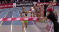 Jenny Simpson at end of record setting DMR run