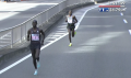 Kipsang starting to pull away