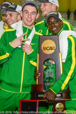 Cheserek and Blake Haney helped deliver another title to UO last year