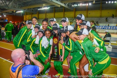 The Oregon women won their sixth title in seven years last year in Birmingham