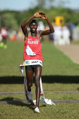 Kamworor repeated at World XC in March. Photo by Roger Sedres for IAAF