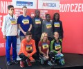 Some of the elite athletes who will run the 2017 Sportisimo Prague Half-Marathon. Back row, left to right: Daniele Meucci (Italy), Galen Rupp (USA), Barselius Kipyego (Kenya), Joyciline Jepkosgei (Kenya), Violah Jepchumba (Kenya). Front row, left to right: Jiri Homolac (Czech Republic), Eva Vrabcova (Czech Republic), Jordan Hasay (USA). (Photo by David Monti for Race Results Weekly)